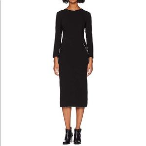 NWT Boutique Moschino Long Sleeve Dress w/Chain 46